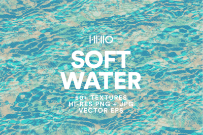 soft water digital patterns from new visual things and hello creative