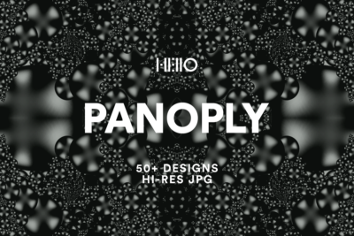 panoply abstract designs from new visual things and hello creative