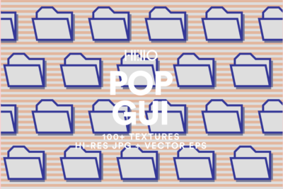pop gui modern retro digital patterns from new visual things and hello mart