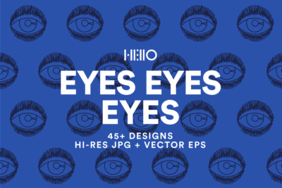 eyes patterns and digital designs from new visual things and hello creative