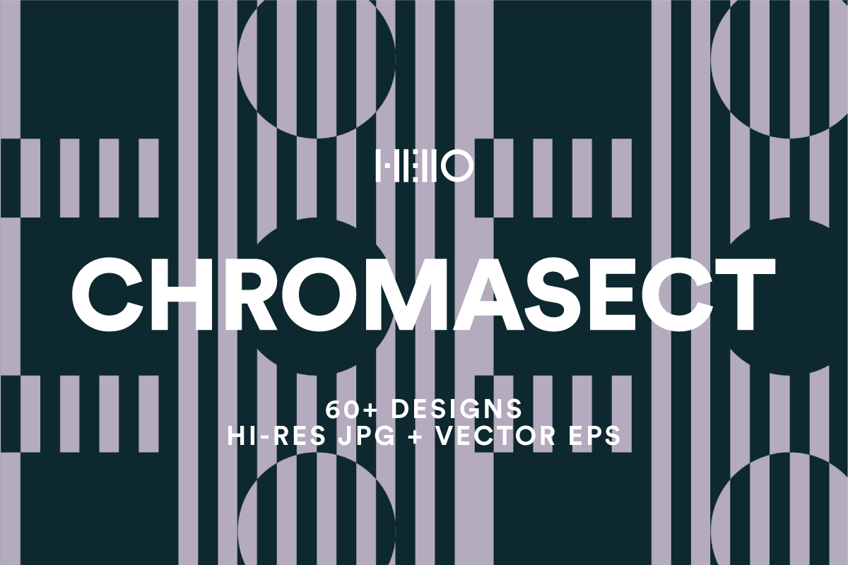 chomasect black and white geometric minimalist patterns from new visual things and hello creative