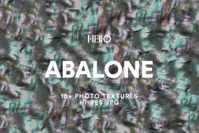 abalone shell inspired digital designs from new visual things and hello creative