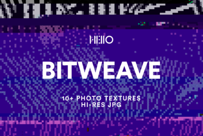 retro 8-bit style digital patterns from new visual things and hello creative