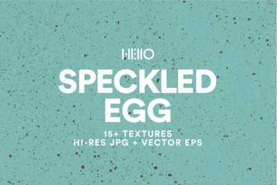 blue speckled bird egg texture designs from new visual things and hello creative