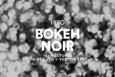 black and white abstract bokeh pattern design from new visual things and hello creative