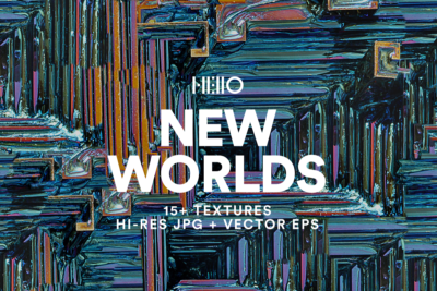 new worlds abstract digital art from new visual things and hello mart