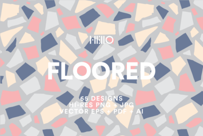 floored terrazzo pattern floor mosaic pastel vector seamless patterns art pack from new visual things and hello creative