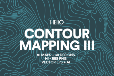 Contour Mapping III topographic maps patterns of the peaks of Europe from new visual things and hello creative