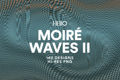 moire waves 2 optical effects digital art pack from hello mart and new visual things