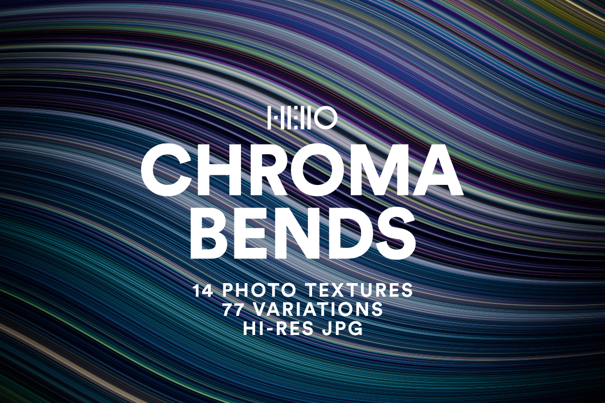 chroma bends abstract color designs art pack