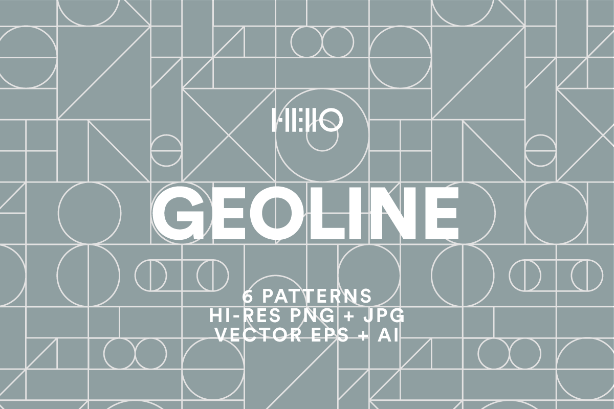 geoline geometric and lined pattern pack from new visual things and hello creative