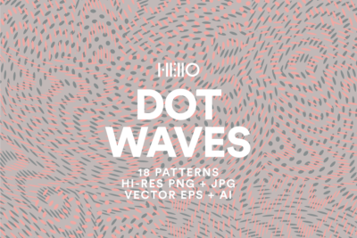 dot waves patterns op art design from new visual things and hello creative