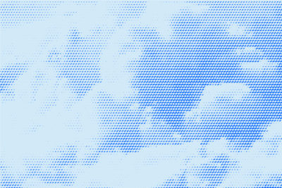 halftone clouds virtual background